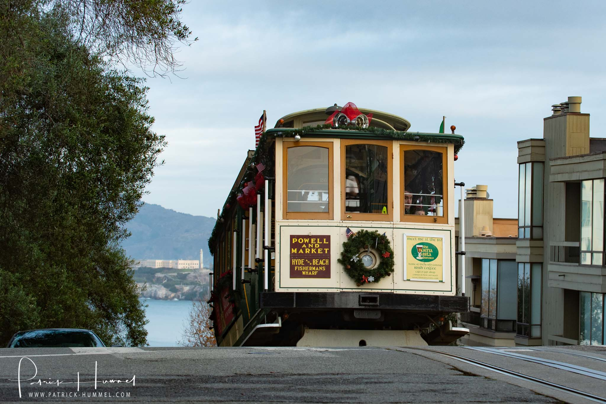 Cable Car und Alcatraz, Hyde Street